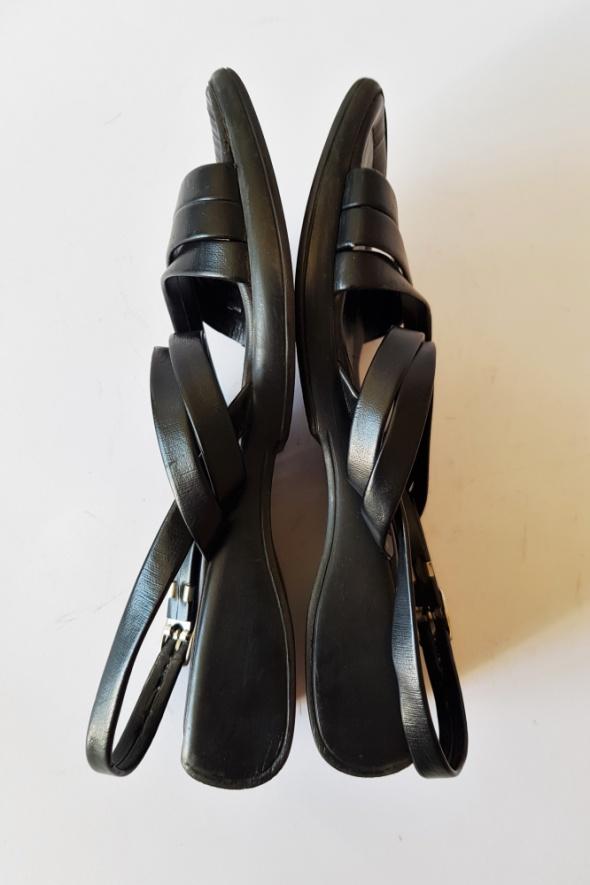 Szwedzkie eleganckie sandały dziewczęce Rozm 31