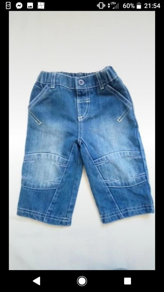 Spodnie jeansowe 62 68 jeansy babaluno...