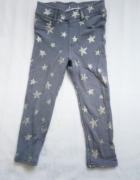 Spodnie w gwiazdy rurki 92 hm