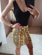HIT SEZONU Spódnica spódniczka rozmiar S krótka mini miniówka p...