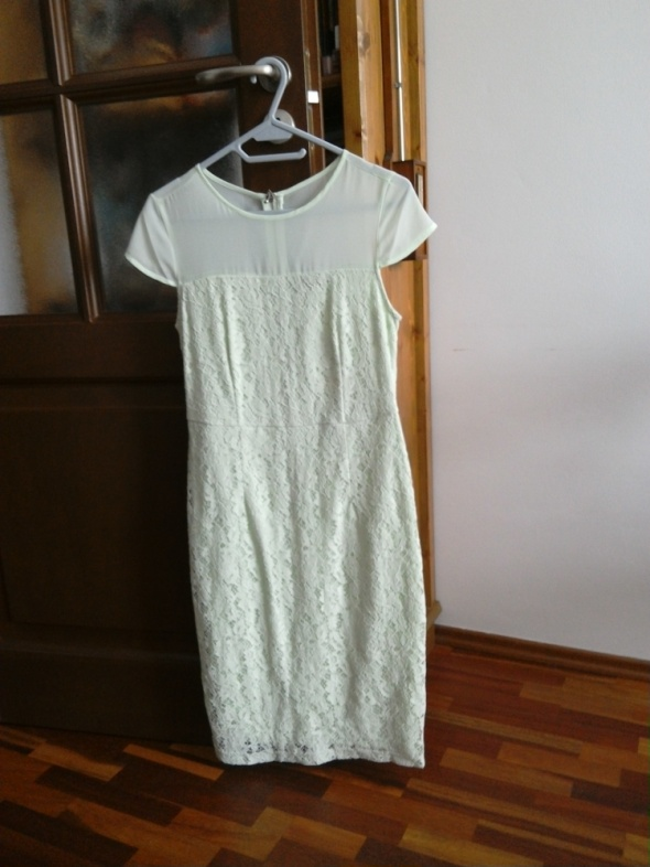 Suknie i sukienki Miętowa sukienka Dorothy Perkins