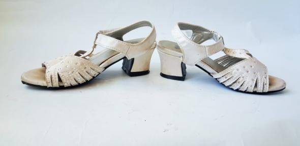 X GIRL Srebrne sandałki dziewczęce r 28