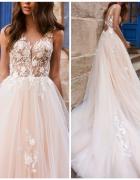 Nowa Suknia ślubna ivory 34 36 jak Milla Nova...