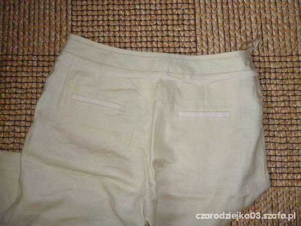 Letnie lniane spodnie
