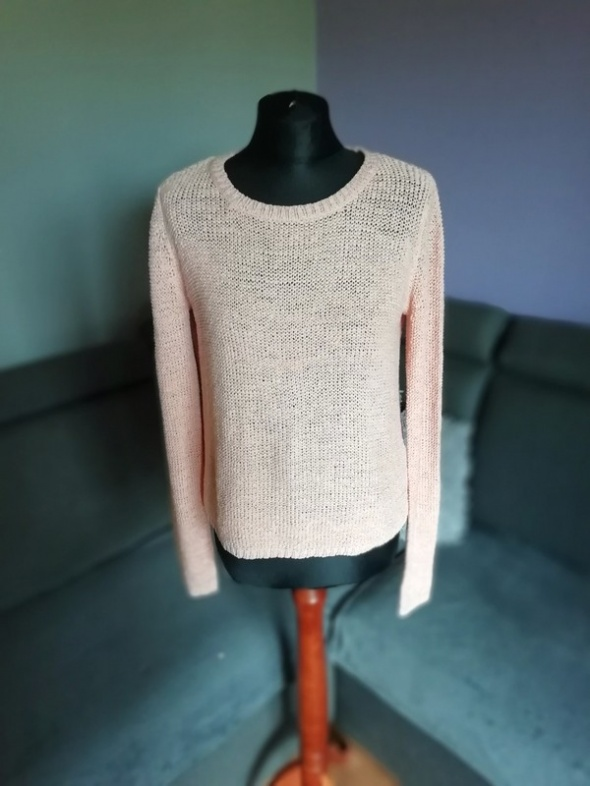 Sweterek z rozporkiem na plecach VERO MODA...