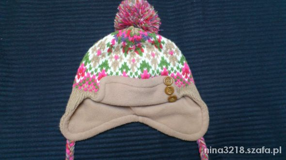 Śliczna ciepła czapka nowa bez metki...