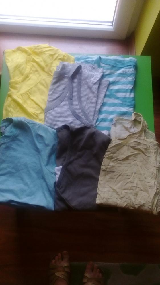 Zestaw paka koszulek bluzek 38 40