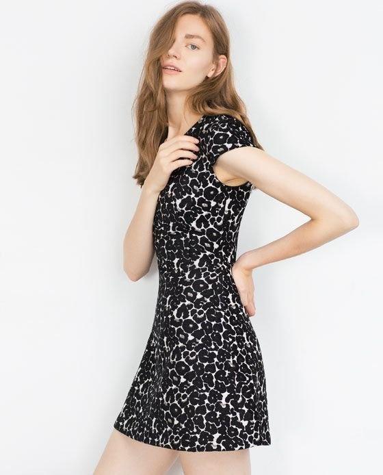 Sukienka ZARA nowa w panterkę