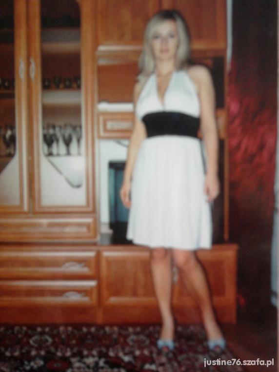 Sukienka ala Marylin Monroe wiązana wesele