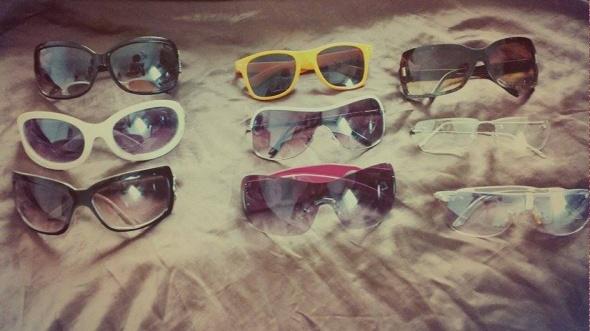 Różne okulary przeciwsłoneczne