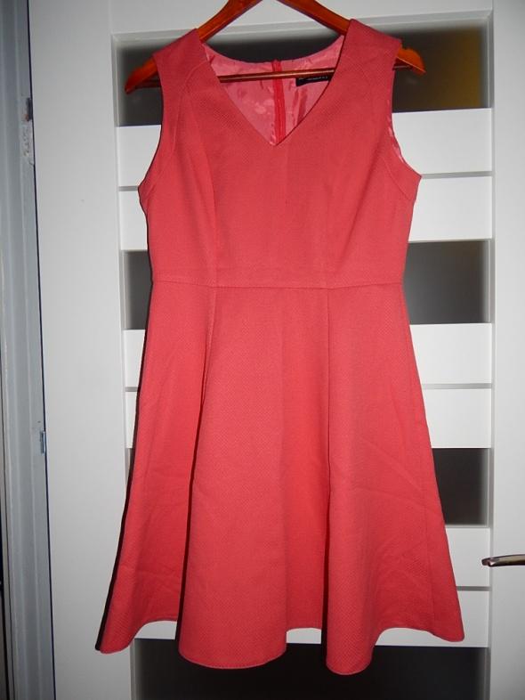 Suknie i sukienki morelowa sukienka 40