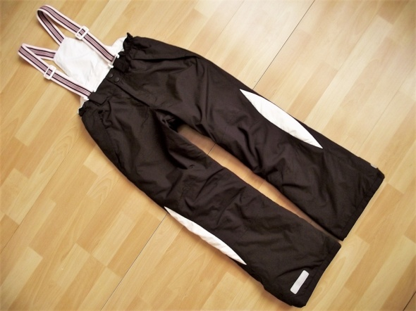 H&M ciepłe spodnie narciarskie 152 lat 11 do 12