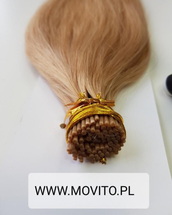 Włosy naturalne Microringi 40cm