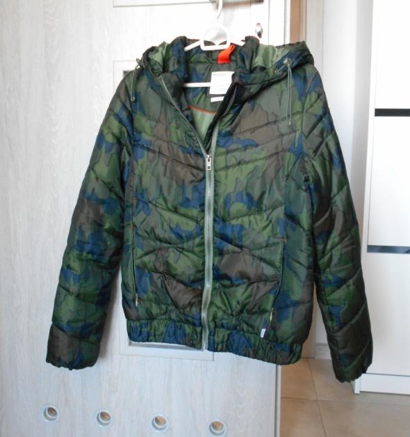 Broadway NYC Fashion kurtka moro zimowa pikowana puchowa...