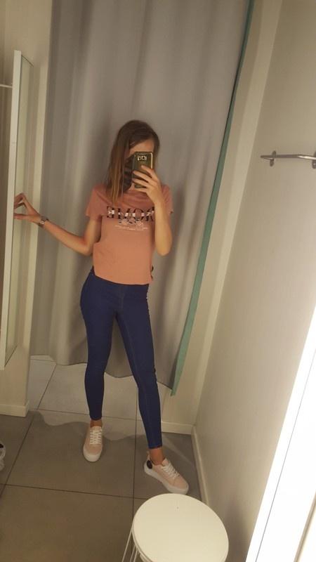 Spodnie jegginsy rurki skiny new look s