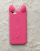 Iphone 6s etui case gumowe jelly kotek różowe nowe...