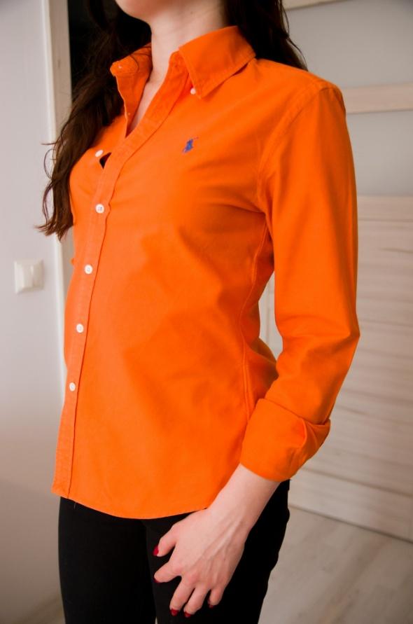 pomarańczowa koszula 34 Ralph Lauren...