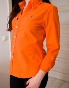 pomarańczowa koszula 34 Ralph Lauren