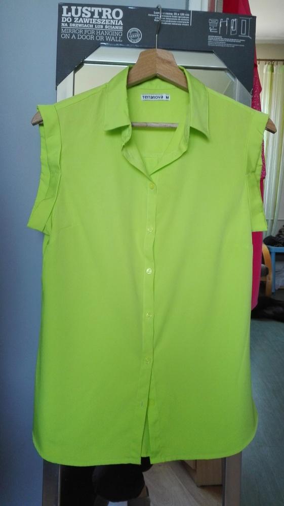 Neonowa koszula rozm M