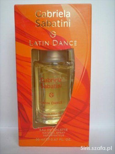 Woda toaletowa Gabriela Sabatini Latin Dance 20 ml