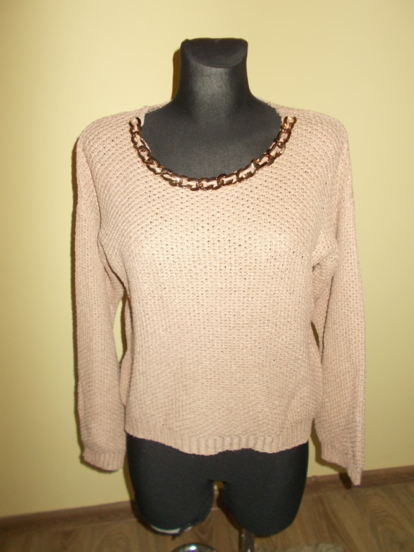 Swetry Sweter łańcuch S
