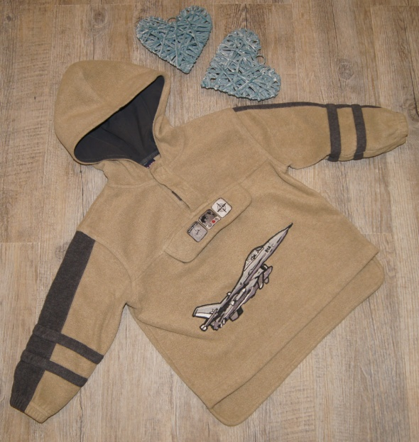 Bluza chłopiec polar samolot plus gratis rozm 104