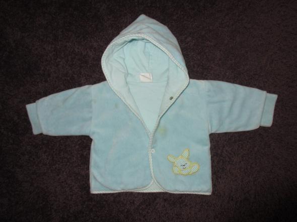 Ciepła bluza kurtka dwustronna na 6 do 12 mscy
