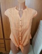Koszula wiązana pomarańczowa Moodo S NOWA...