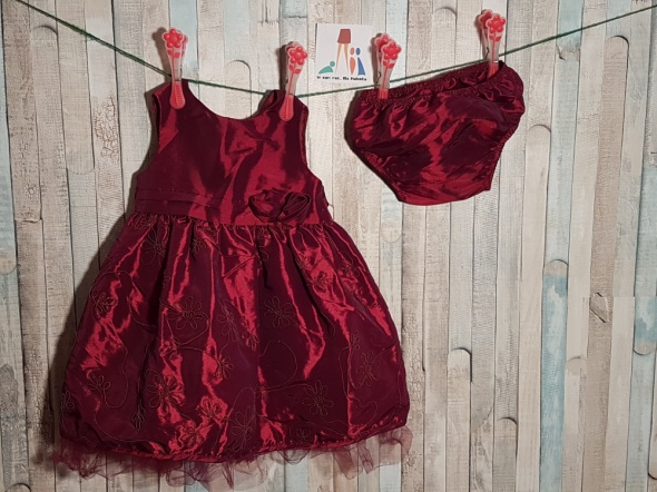 Sukienka i majteczki