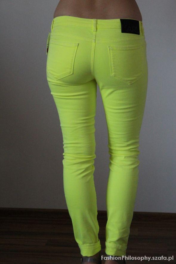 Neonowe spodnie Karl Lagerfeld...