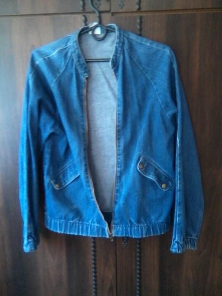 Odzież wierzchnia katana jeansowa wrangler