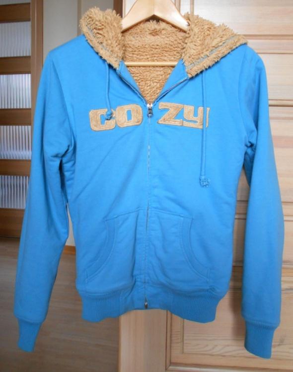 Troll ciepła bluza z kapturem cozy futerko...