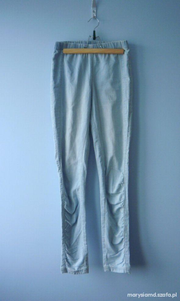 Kappahl nowe tregginsy legginsy jeansowe...