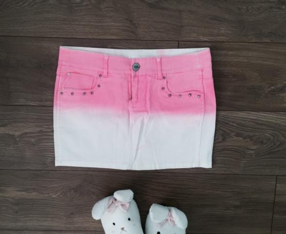 Spódniczka mini ombre rozowa...