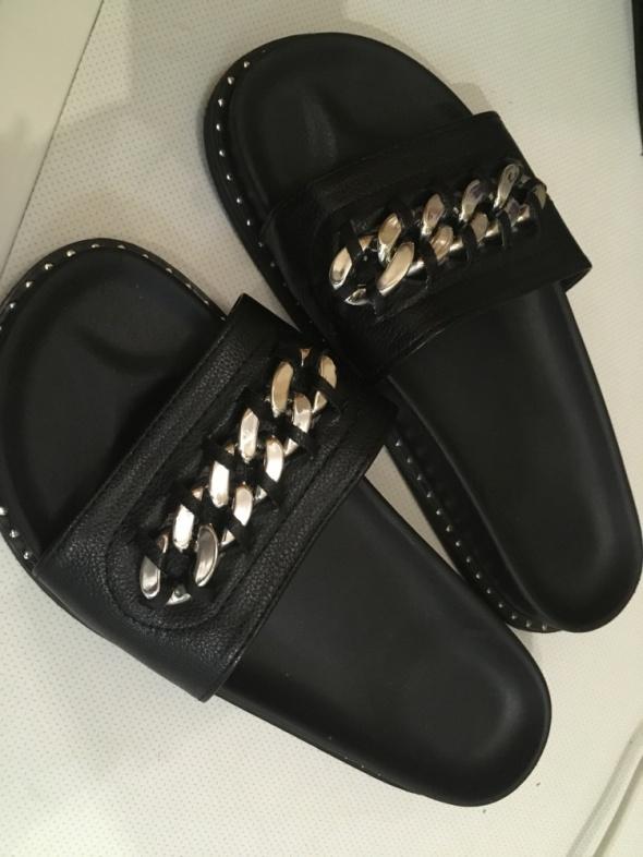 sandały łańcuch deezee 37 czarne