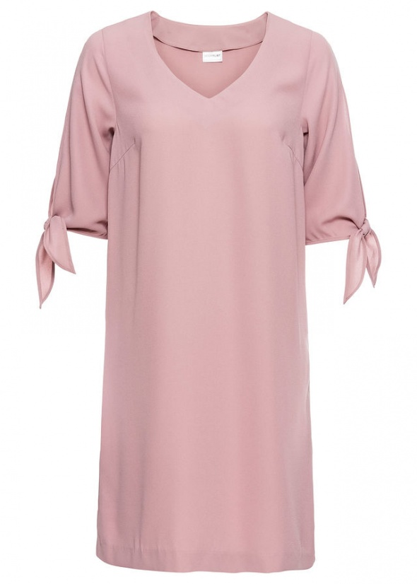 NOWA pudrowa sukienka BonPrix...