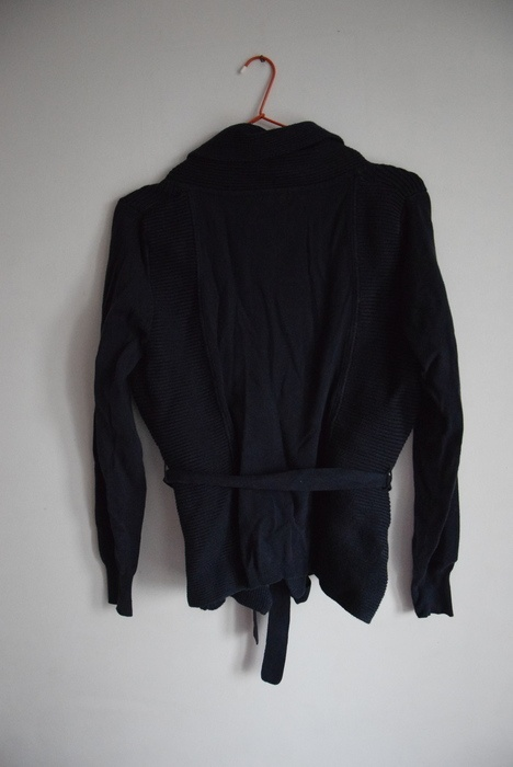 Sweter szlafrokowy