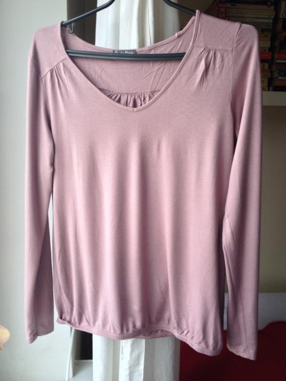 Fioletowa bluzka ze ściagaczem Grain de Malice M L