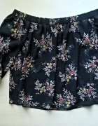 Bluzka hiszpanka w kwiaty XS S...