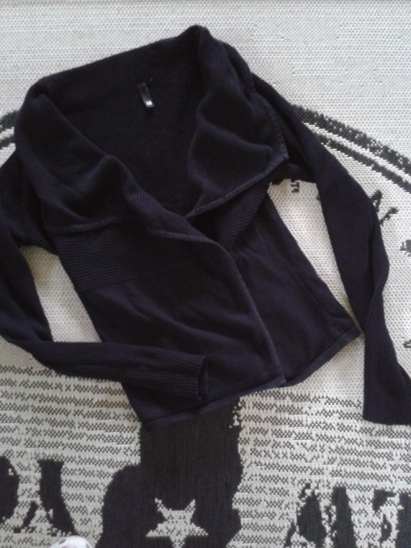 H&M Kardigan narzutka bawełniana czarna M 38...
