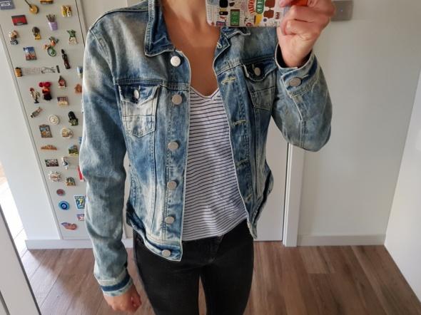 Kurtka jeansowa Reserved