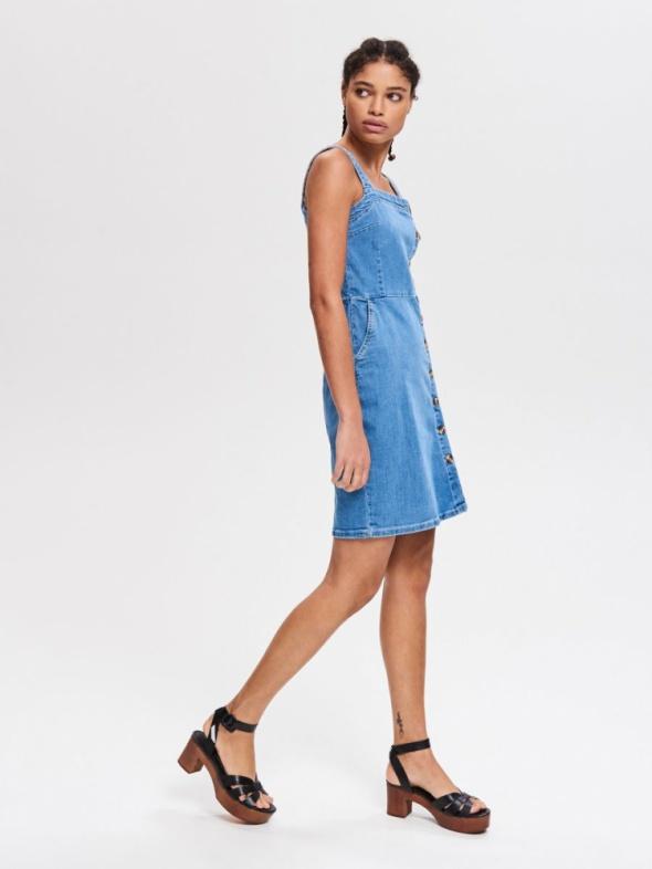 Sukienka RESERVED jeansowa