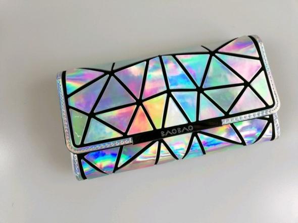 Portfel kopertówka BAOBAO holo hologram kolorowy HIT