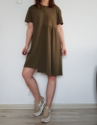 Sukienka khaki militarna Reserved 38 M...