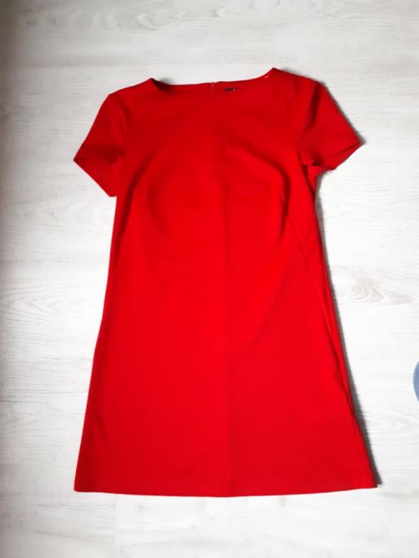 Czerwona sukienka mohito xs