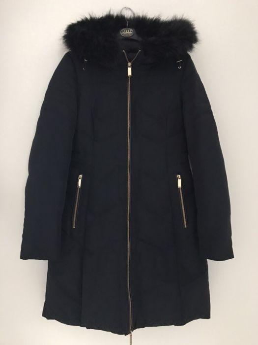 zimowa kurtka ZARA Basic S z pierzem