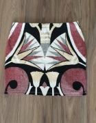 Nowa spódnica aztec złoto 40 42 L XL...