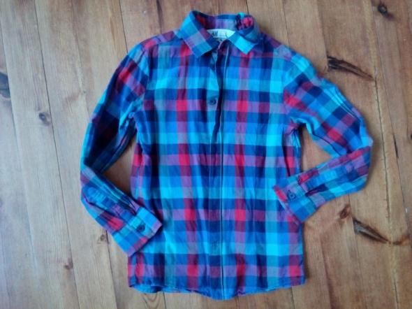 Kraciasta koszula 134 cm