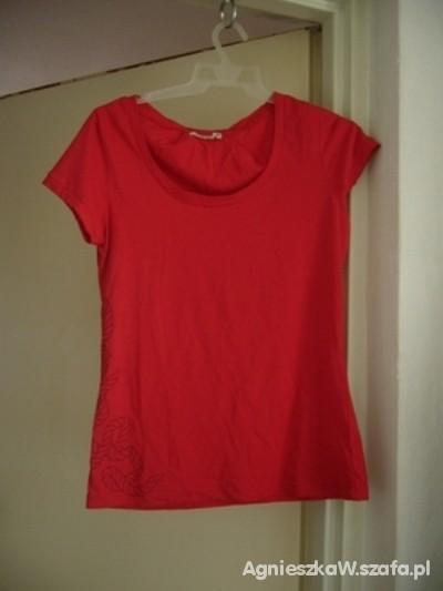 Bluzki nowa czerwona bluzka Troll