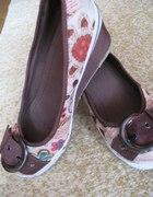 śliczne buty na platformie koturna piękne 39...